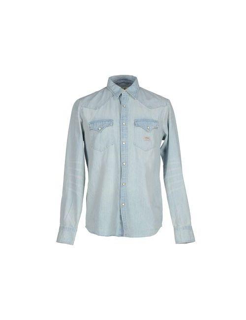 Denim & Supply Ralph Lauren | Мужская Синяя Джинсовая Рубашка