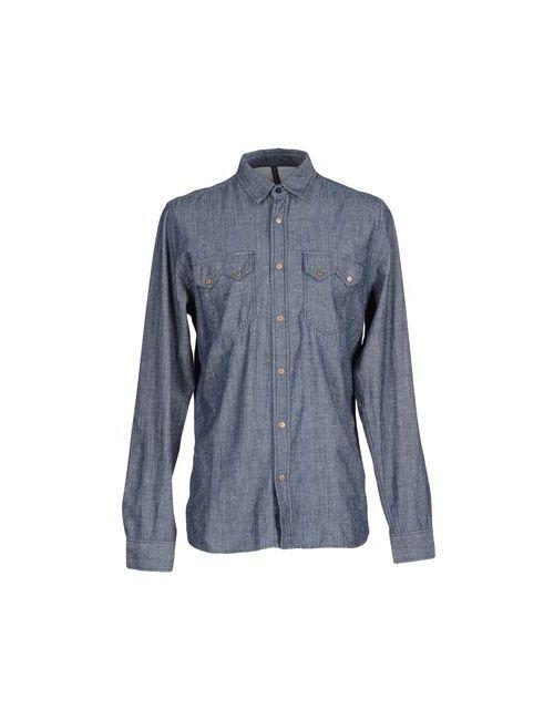 Nudie Jeans Co | Мужская Синяя Джинсовая Рубашка