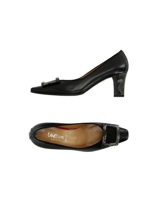 Voltan | Женские Чёрные Туфли