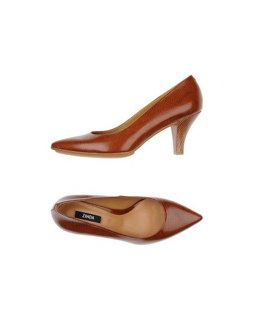 Zinda | Женские Коричневые Туфли