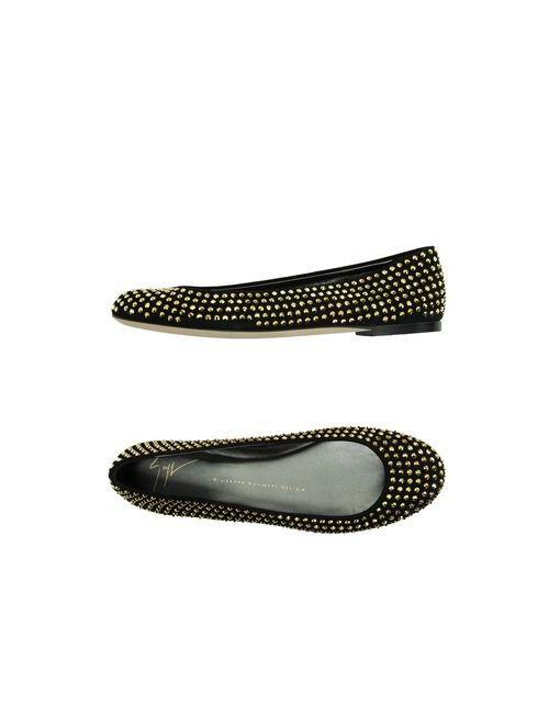 Giuseppe Zanotti Design | Женские Чёрные Балетки
