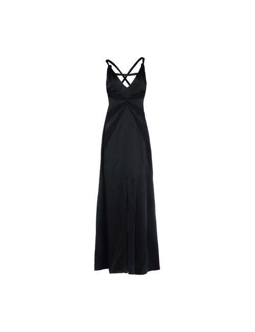 Armani Collezioni | Женское Чёрное Длинное Платье