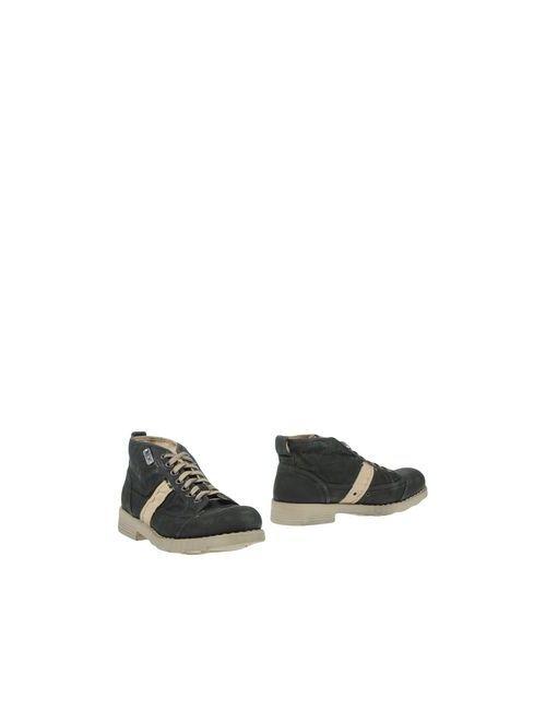 O.X.S. | Мужские Серые Полусапоги И Высокие Ботинки