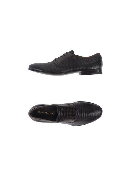 Cesare Paciotti | Мужская Коричневая Обувь На Шнурках