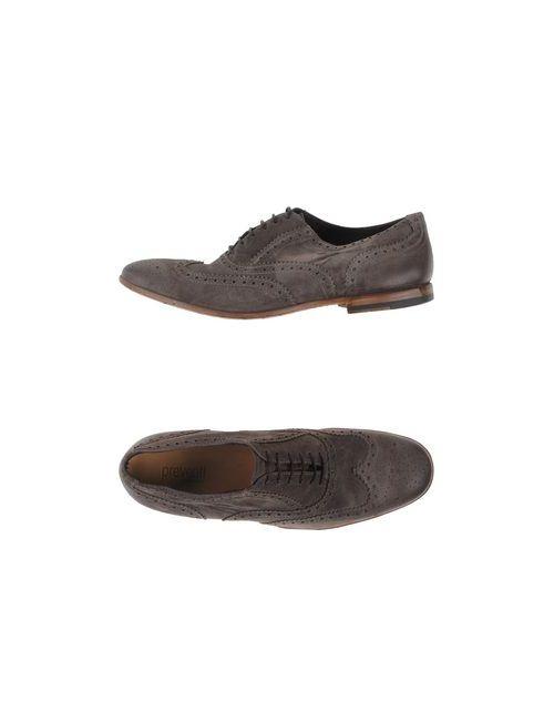 Preventi Collection   Мужская Серая Обувь На Шнурках