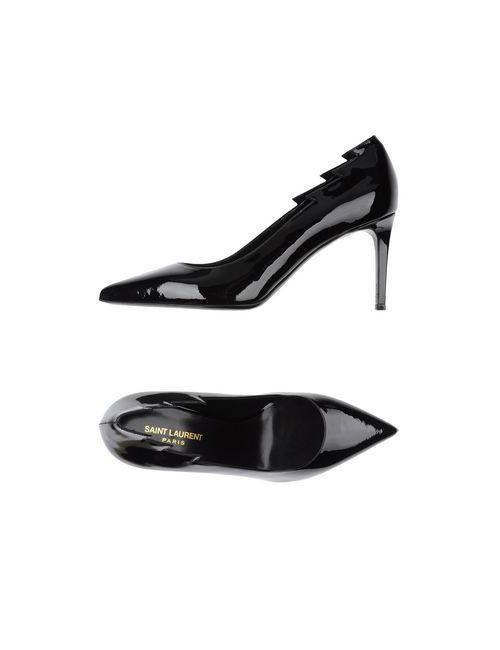 Saint Laurent | Женские Чёрные Туфли