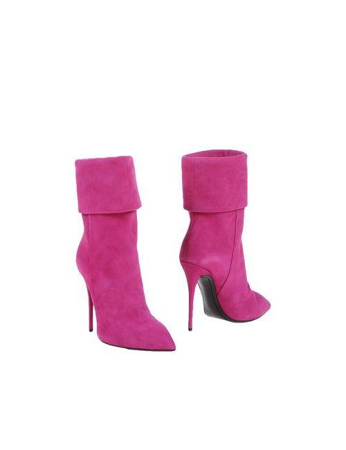 Giuseppe Zanotti Design | Женские Фуксии Полусапоги И Высокие Ботинки
