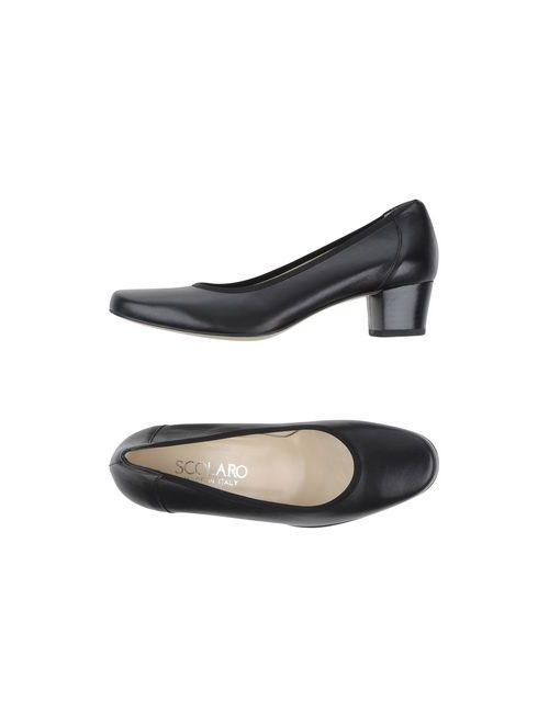 Scolaro | Женские Чёрные Туфли