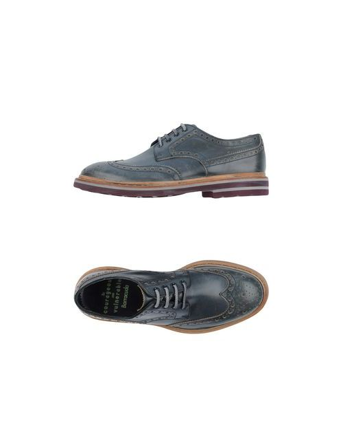 Barracuda | Мужская Синяя Обувь На Шнурках