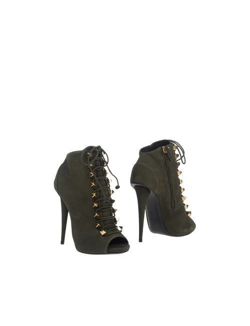 Giuseppe Zanotti Design | Женские Зелёные Ботинки