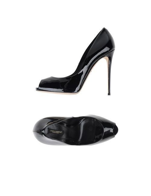 Dolce & Gabbana | Женские Чёрные Туфли