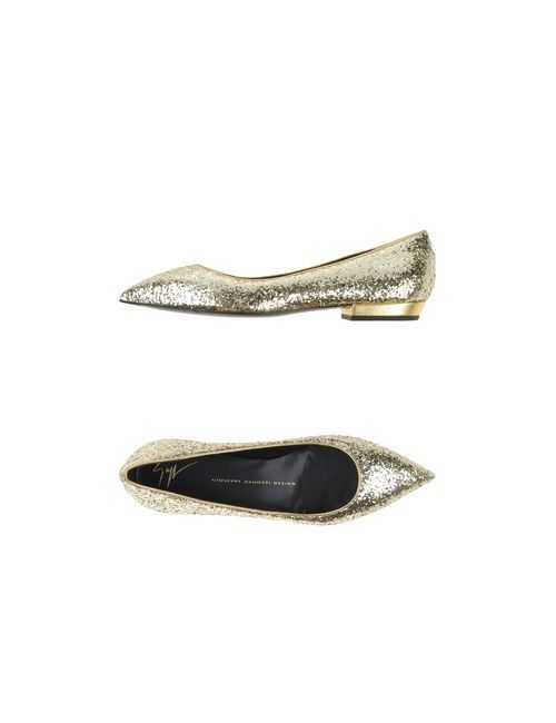 Giuseppe Zanotti Design | Женские Золотистые Балетки