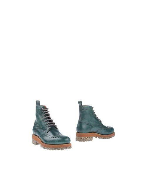 Dsquared2 | Мужские Зелёные Полусапоги И Высокие Ботинки