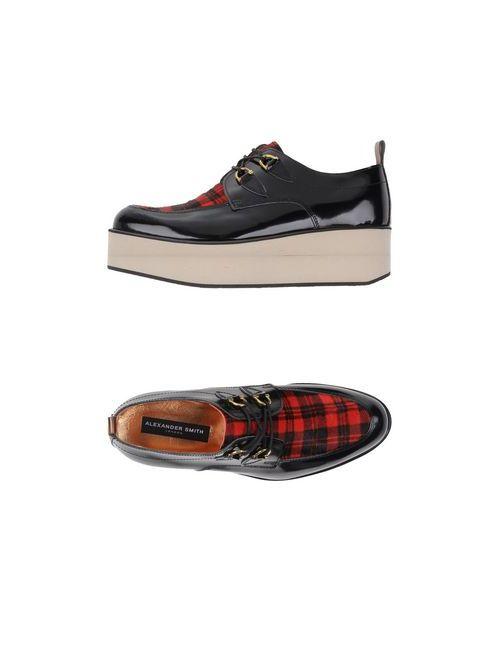 Alexander Smith | Женская Черный Обувь На Шнурках