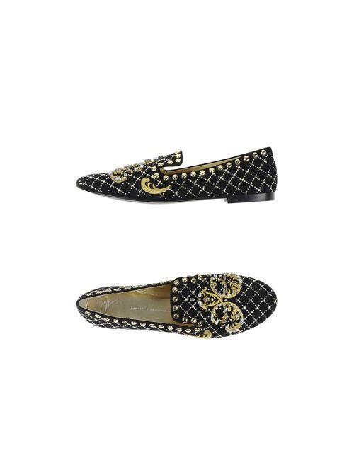 Giuseppe Zanotti Design | Женские Чёрные Мокасины