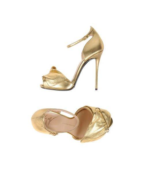 Giuseppe Zanotti Design | Женские Золотистые Сандалии