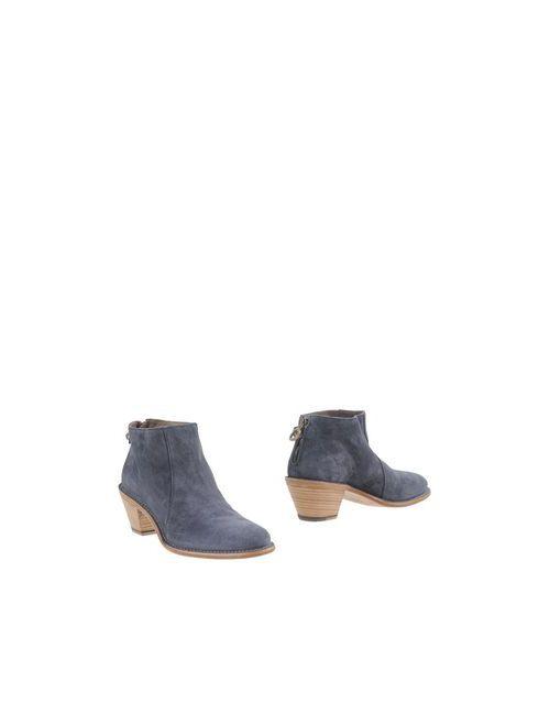 Fiorentini+Baker | Женские Синие Полусапоги И Высокие Ботинки