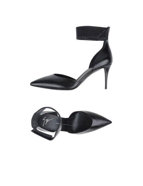 Giuseppe Zanotti Design | Женские Чёрные Туфли