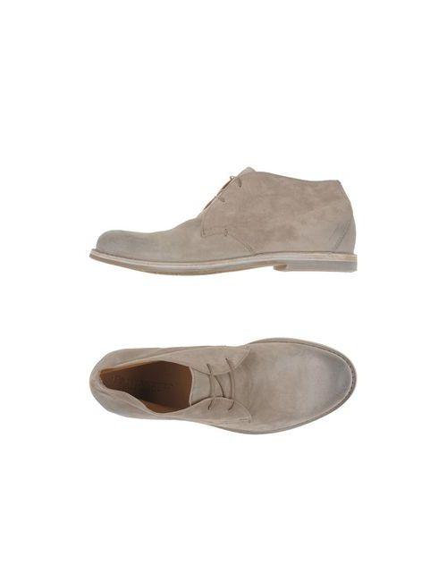 Pantanetti | Мужская Бежевая Обувь На Шнурках
