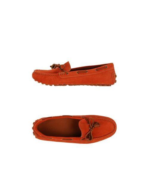 Dsquared2 | Женские Оранжевые Мокасины