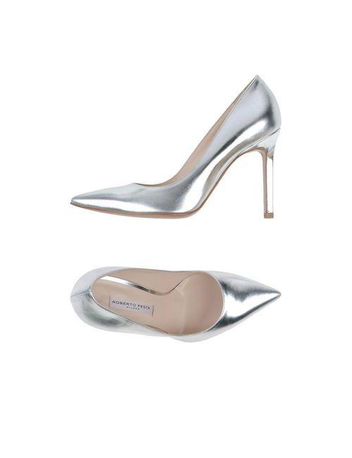 Roberto Festa | Женские Серебристые Туфли