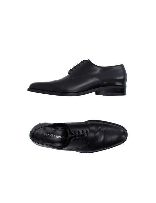 Giorgio Armani | Мужская Черный Обувь На Шнурках