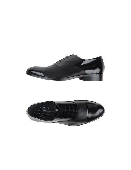 Daniele Alessandrini | Мужская Чёрная Обувь На Шнурках