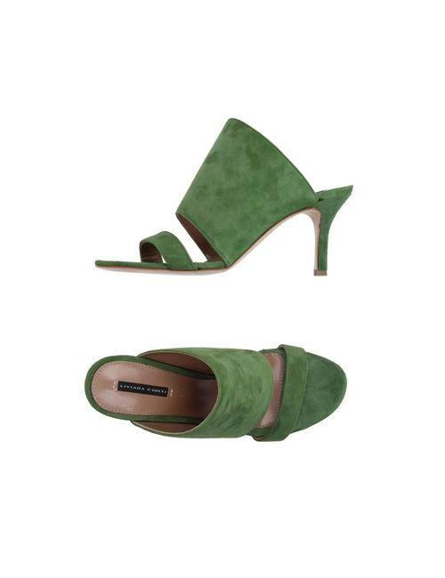 Liviana Conti | Женские Зелёные Сандалии