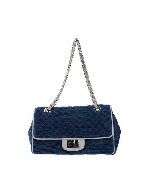 Baroco   Женская Синяя Сумка На Плечо