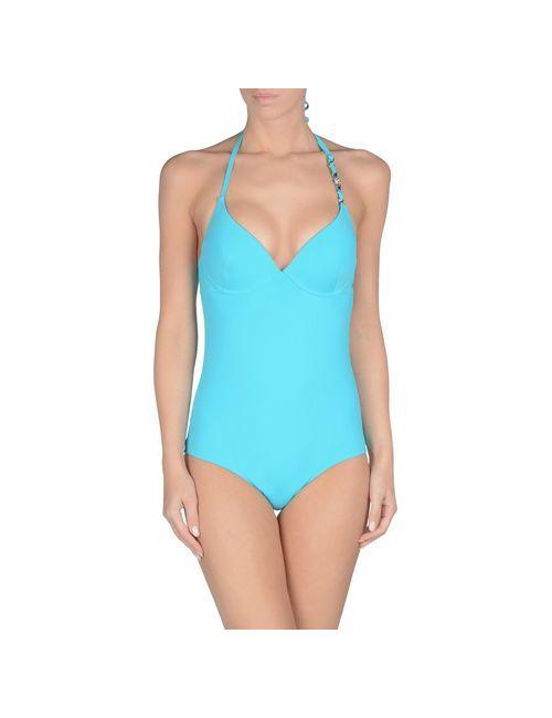 Liu •Jo Beachwear   Женский Бирюзовый Слитный Купальник