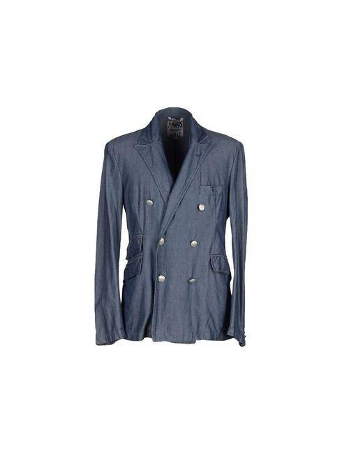 Fraizzoli | Мужская Синяя Джинсовая Верхняя Одежда