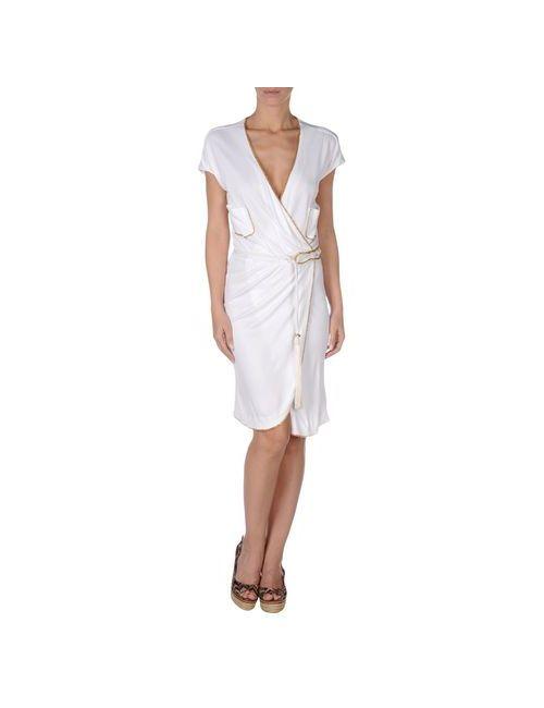 Vdp Beach | Женское Белое Пляжное Платье