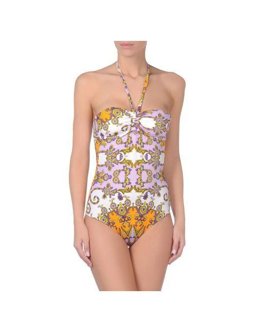 Liu •Jo Beachwear | Женский Фиолетовый Слитный Купальник