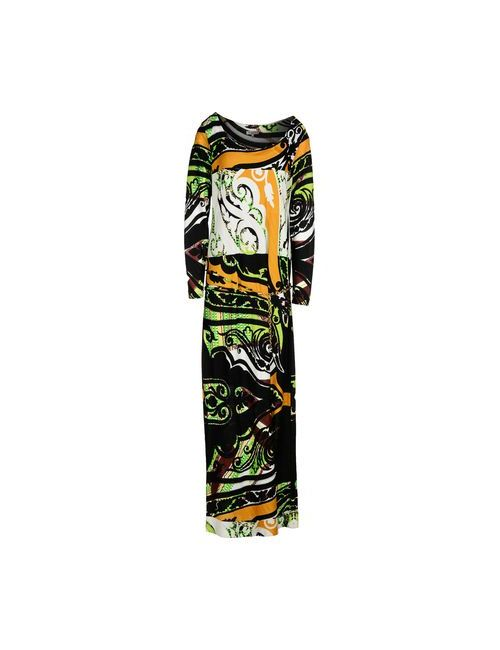 Etro | Женское Чёрное Длинное Платье