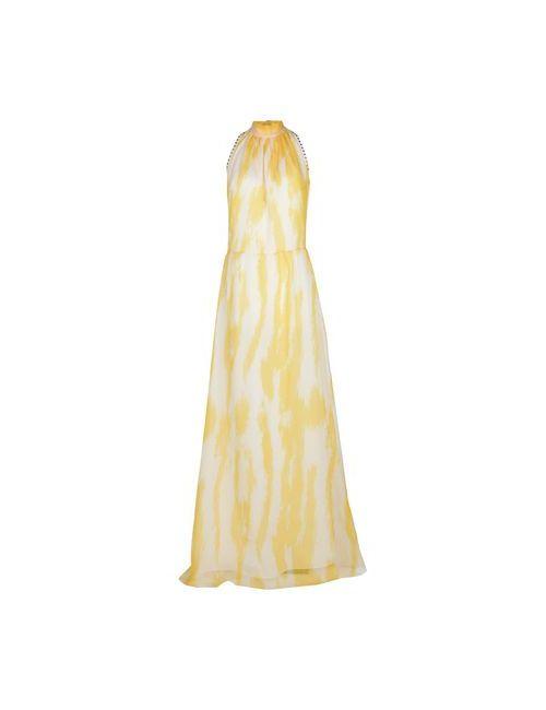 BeaYukMui | Женское Жёлтое Длинное Платье
