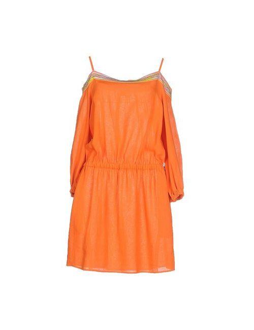 Emilio Pucci | Женское Оранжевое Короткое Платье