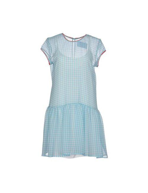 ..,Merci | Женское Голубой Короткое Платье