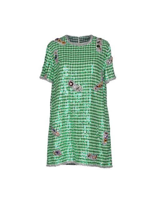 Ashish | Женское Зелёное Короткое Платье