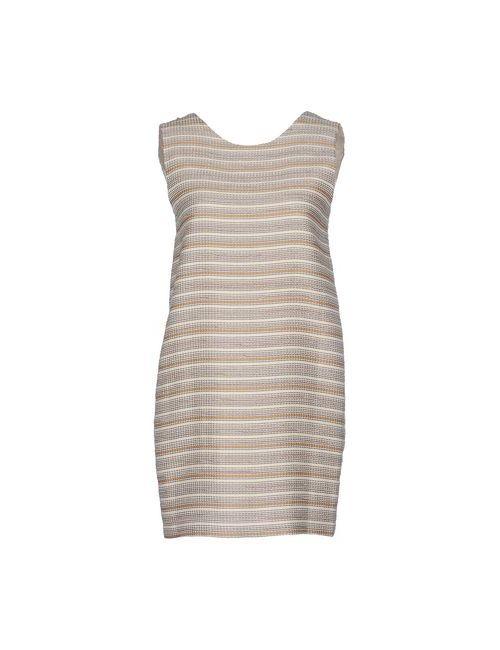 Sessun | Женское Слоновая Костящее Короткое Платье