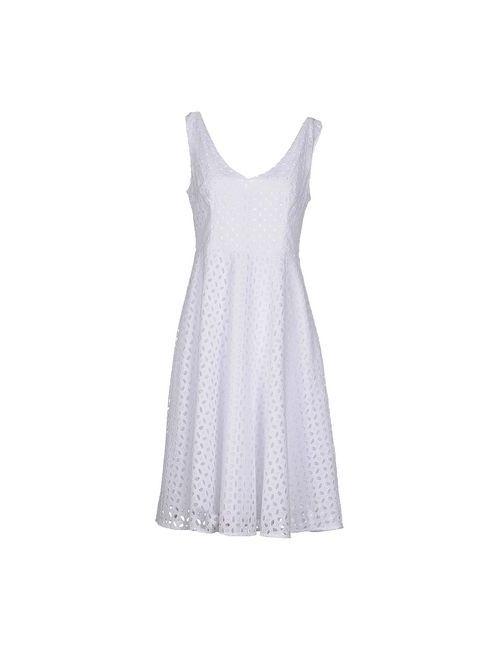 P.A.R.O.S.H. | Женское Белое Платье До Колена