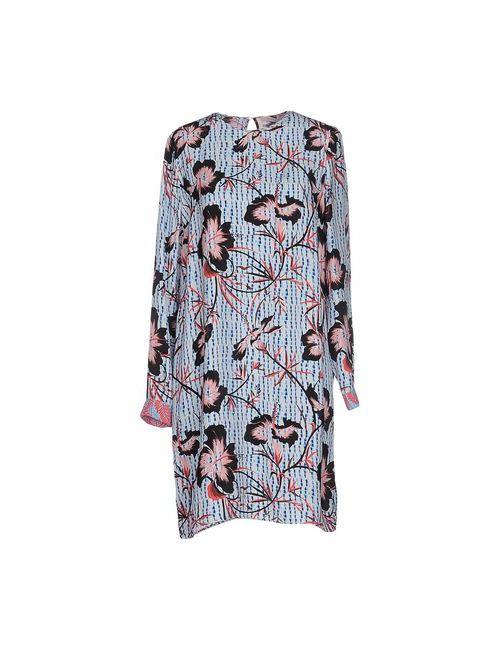 Matthew Williamson | Женское Голубое Короткое Платье