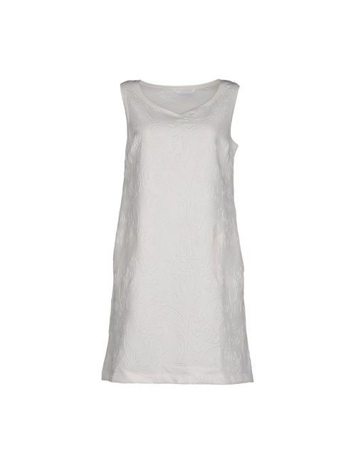 Brebis Noir | Женское Белое Короткое Платье