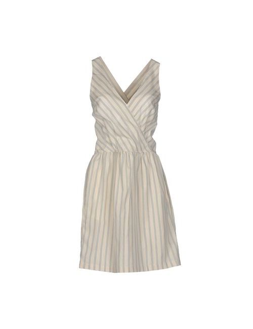 Sessun | Женское Бежевое Короткое Платье