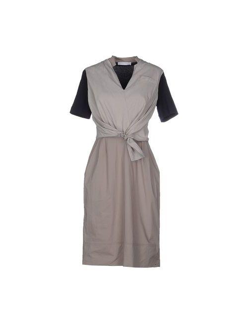 Fabiana Filippi | Женское Серое Короткое Платье