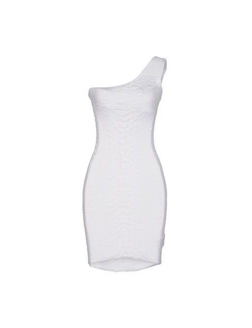 Guess | Женское Белое Короткое Платье