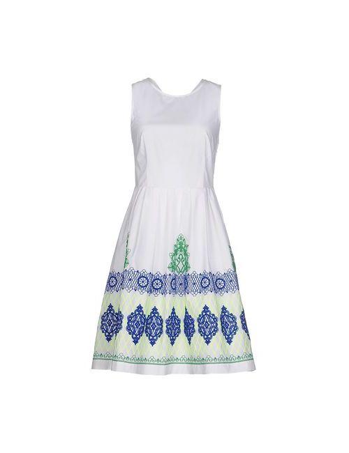 P.A.R.O.S.H. | Женское Белое Короткое Платье