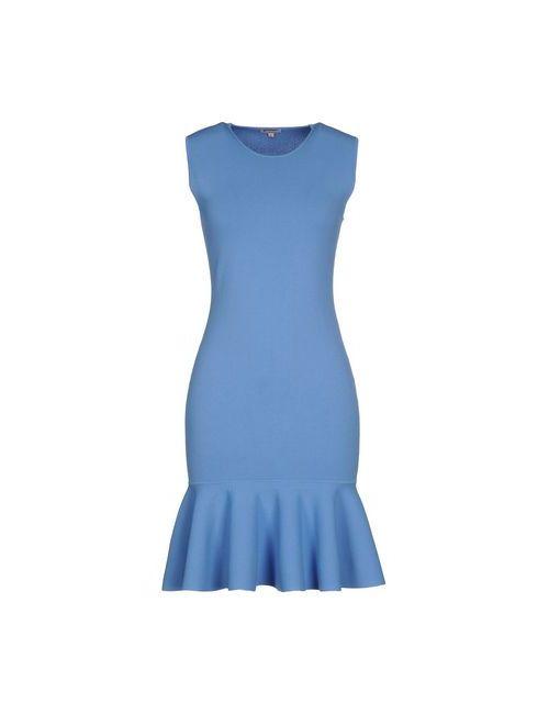 P.A.R.O.S.H. | Женское Лазурное Короткое Платье