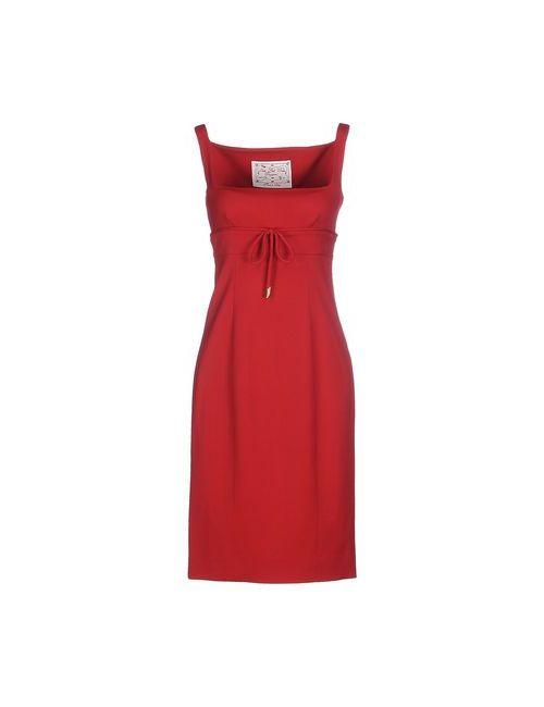 Dsquared2 | Женское Красное Короткое Платье