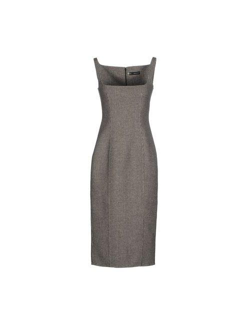 Dsquared2 | Женское Серое Платье До Колена