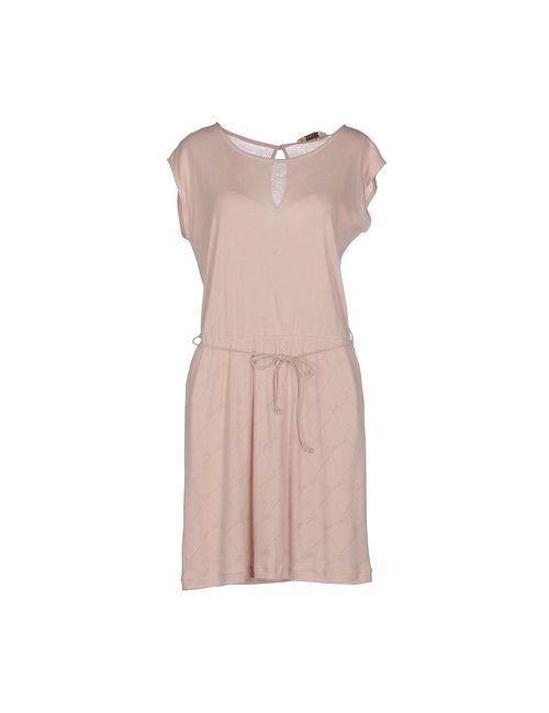 Sessun | Женское Розовое Короткое Платье